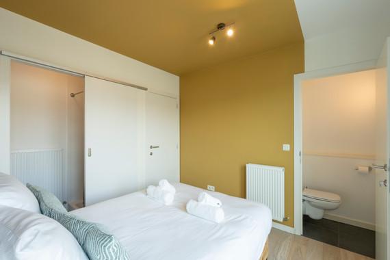 The Indian Yellow - SHWAY 62 - studio bedroom bathroom