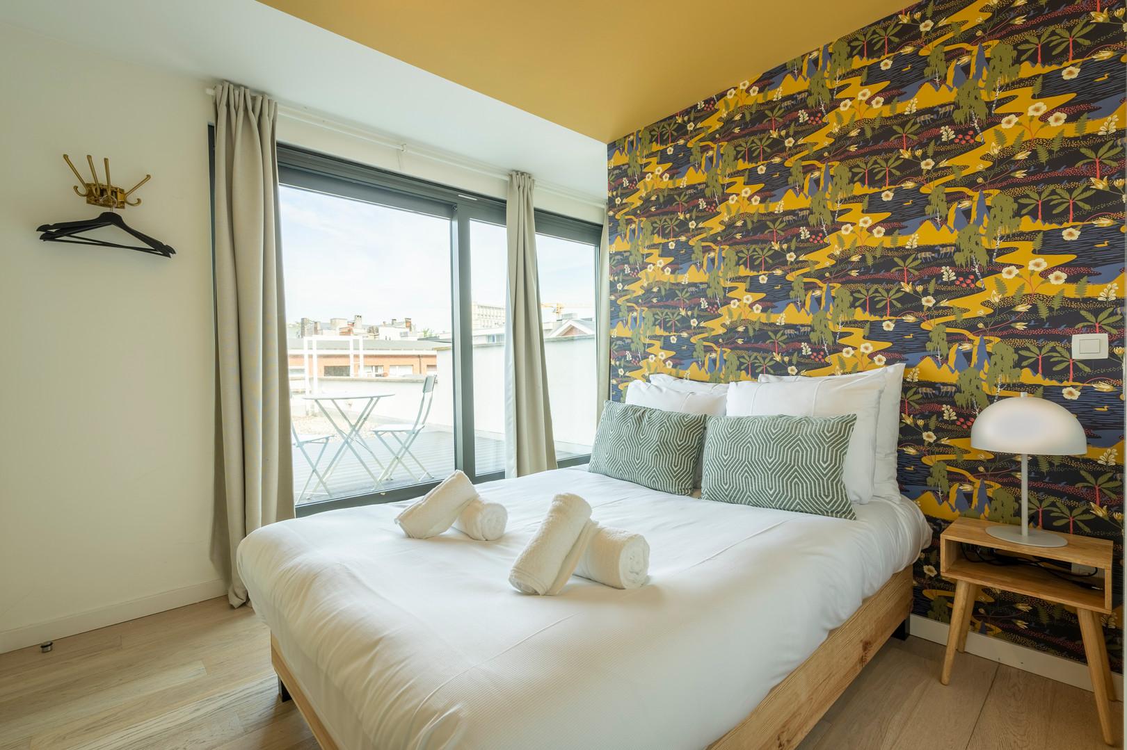 The Indian Yellow - SHWAY 62 - studio bedroom