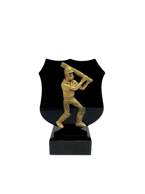 Small Perspex award with resin figurines (Sport)