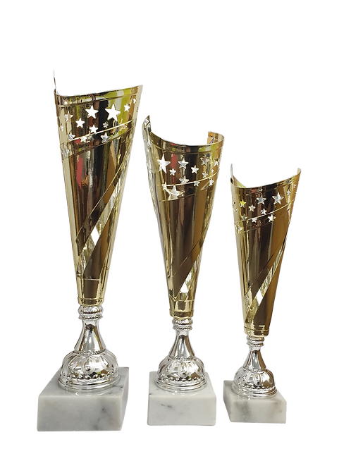 Euro Metal Star Cup (Various Colours)