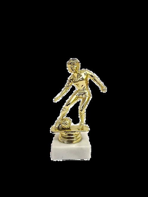 Soccer Female Figurine