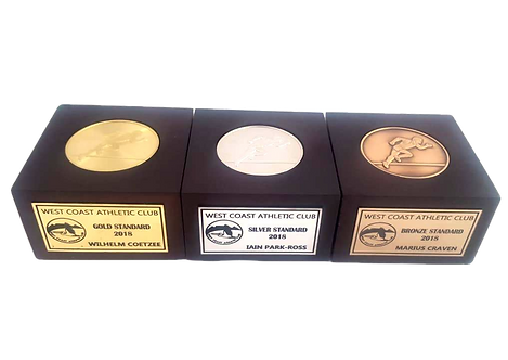 Solid Brass 50mm (Box Medal)