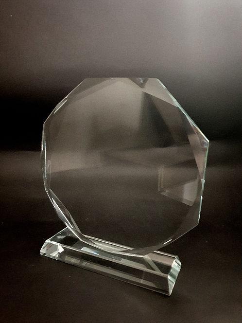 Octagon Glass Award