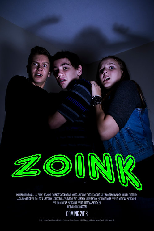 """11x17 Poster - """"Zoink"""""""
