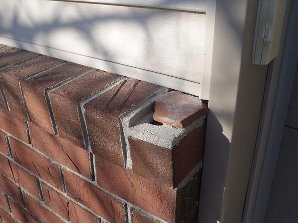 Brick ledge cap