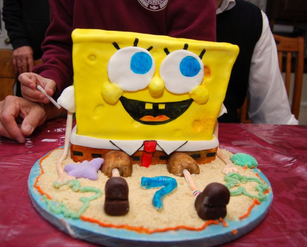 Flickr - spongebob cake