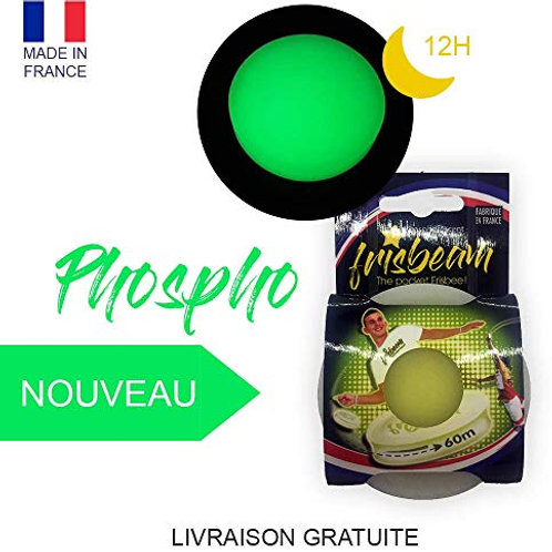 Frisbeam Phosphorescent Frisbeam customisé: Uniquement en vente sur Amazon