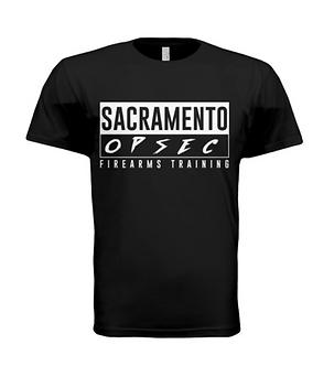 Sacramento Opsec Logo Tee