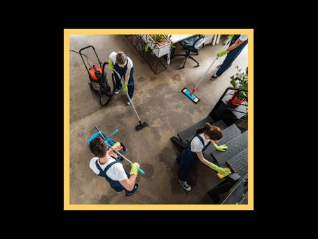Le fonctionnement d'une entreprise de nettoyage à Lille