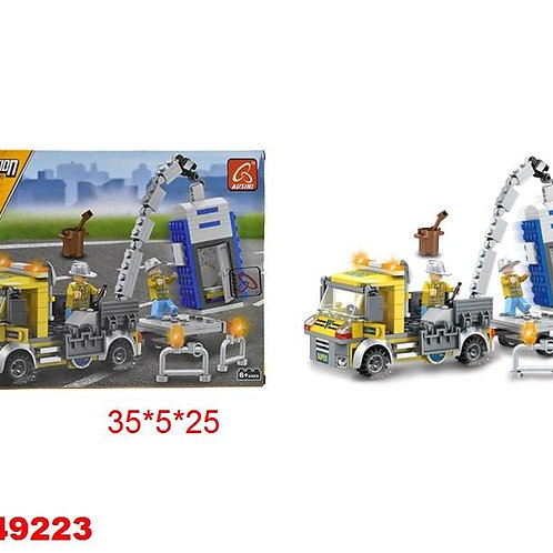 11-389-66 Конструктор Строительство 266 деталей. в коробке