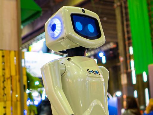 Quando o robô é a mensagem