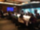 Sócios da Kingsley Gate apresentam os diferenciais da empresa em almoço para diretores de recursos humanos no Brasil.