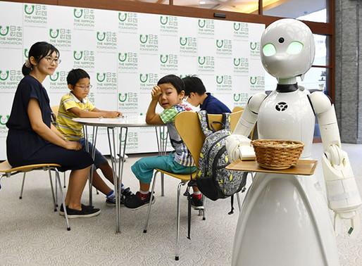 Avatares robôs para deficiências físicas