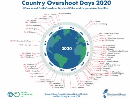 Mais do que a Terra pode nos dar | Earth Overshoot Day