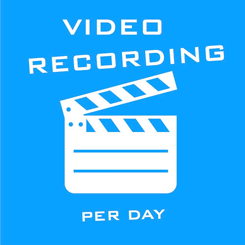 8-hour Video and Audio Recording Session - includes mix, master & editing