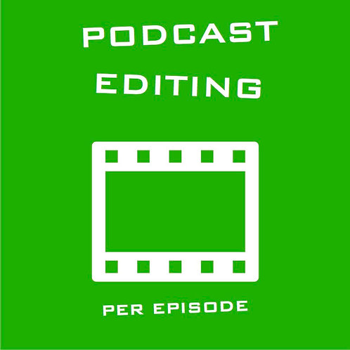 Podcast Editing - per episode