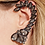 Thumbnail: Dark Grey Ear Cuff Wrap