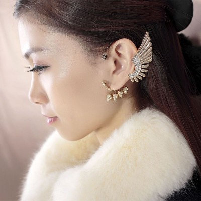Skull & Wing Ear Cuff
