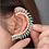 Thumbnail: Sexy Rhinestone Ear Cuff Wrap