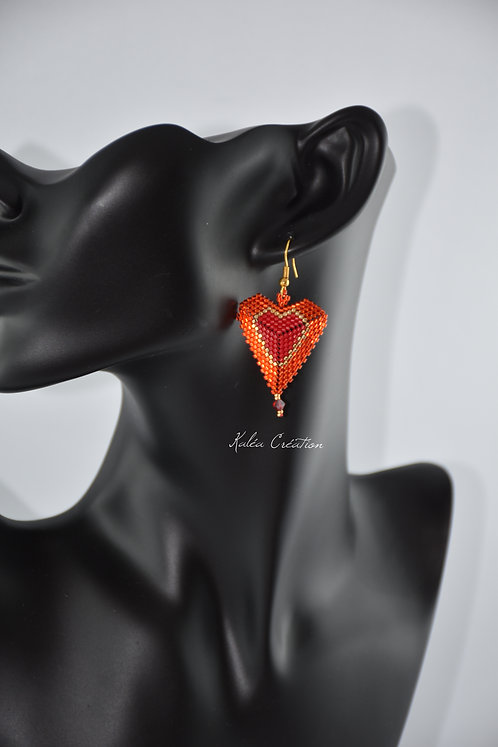 "Boucles d'oreilles ""For ever"""
