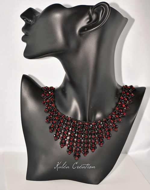 """Collier """"Red Harmony"""""""