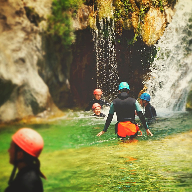 Thessaloniki Greece _ Baseline Canyoning