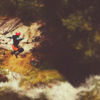 During our canyoning trip in Greece expe