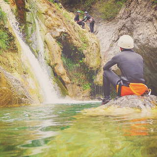 Canyoning Greece with Baseline on Mt Oly