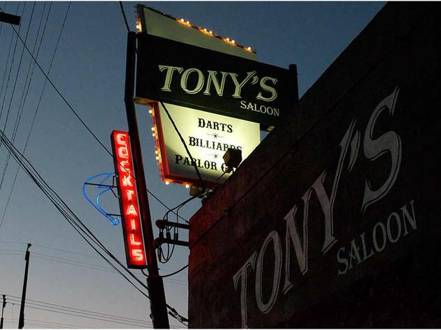 TONY'S SALOON