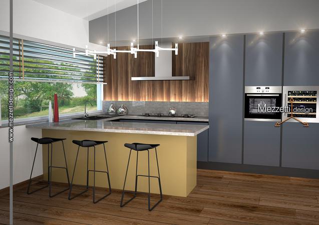 Progetto di una cucina