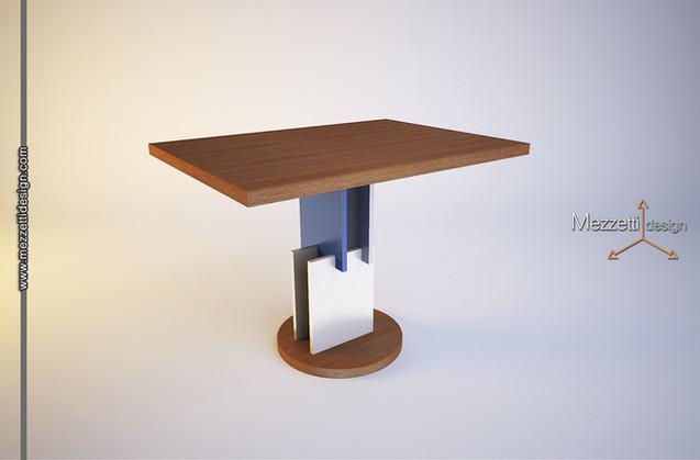 Progetto di un tavolo da pranzo