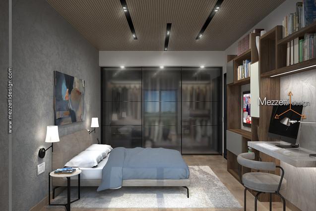 Progetto di una camera da letto