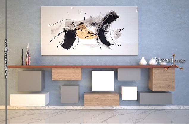 Progetto di una parete attrezzata