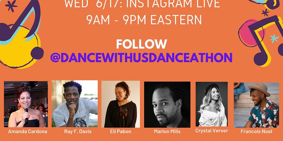 Dance With Us Live Danceathon on Instagram!