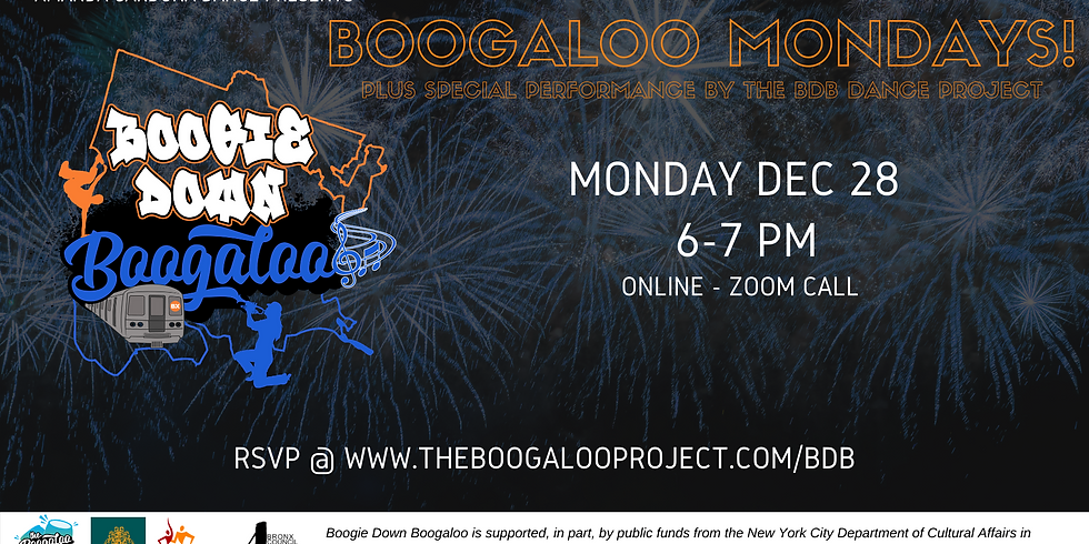 Boogaloo Fusion Mondays!