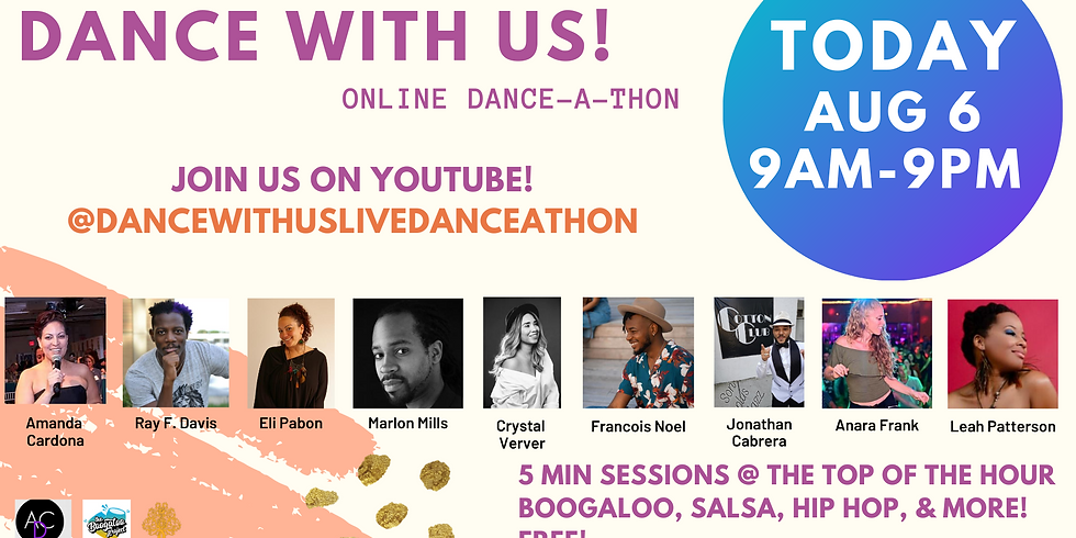 Dance With Us Live Danceathon on YouTube