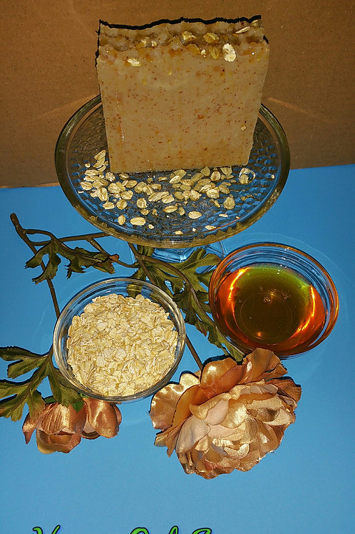 Honey Oats Soap
