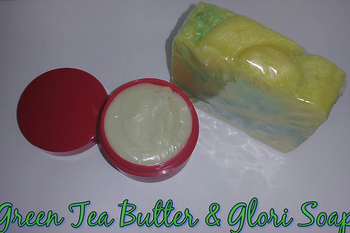 Green Tea Butter &Glori Soap