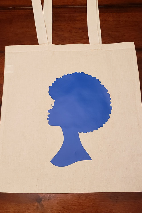 Afro Cloth Bag Royal Blue