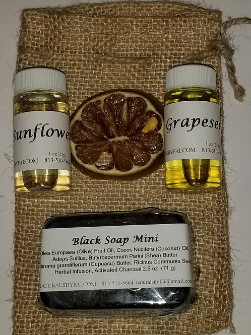 Gift Bag #2 w/Grapeseed oil