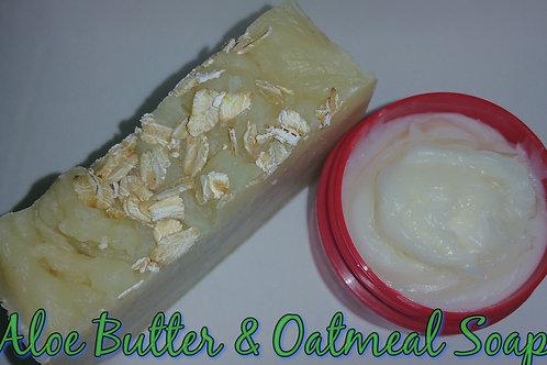 Aloe Butter & Oatmeal Soap