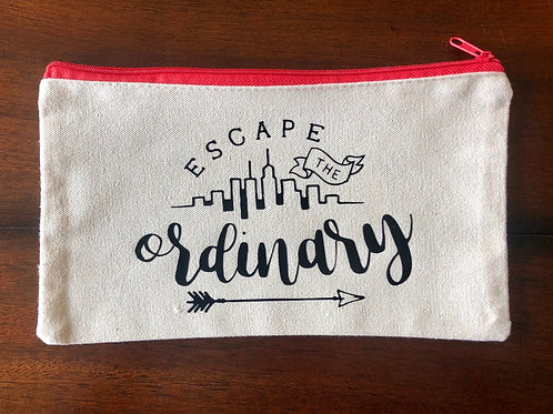 """Escape The Ordinary"" Travel Pouch"