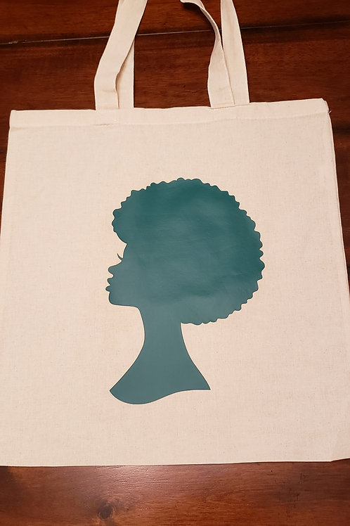 Afro Cloth Bag Green