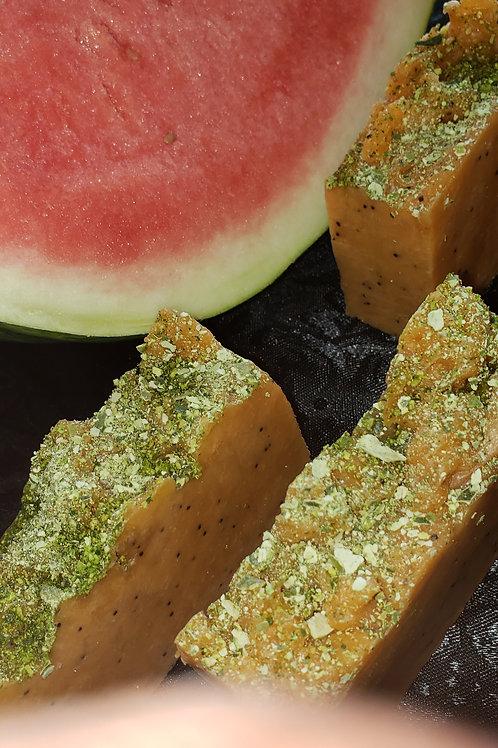 Watermelon Poppy Soap(ready 6/1)