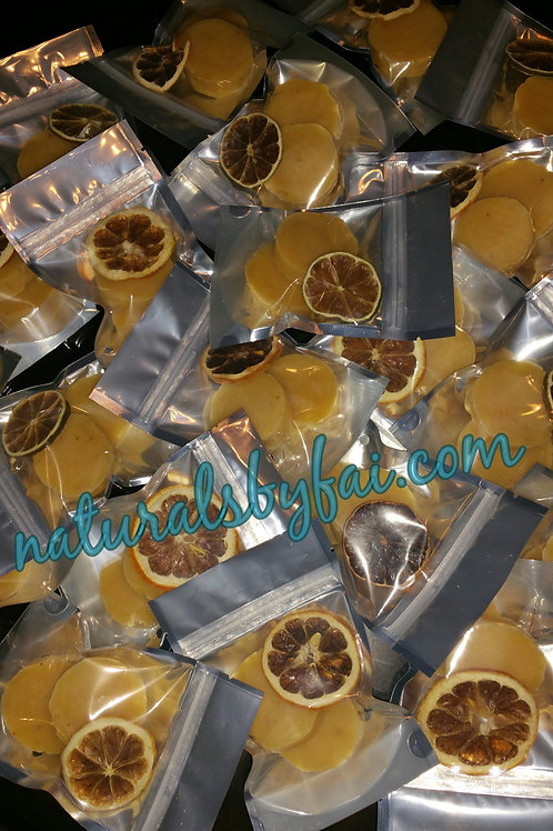 Lemon Peel Sample (soap)