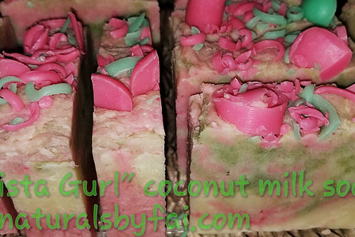 """Sista Gurl"", Coconut Milk Soap"