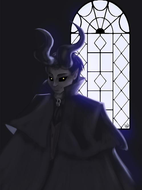 Ilustração - Daimone, o Demônio