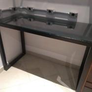 Mesa em tubo quadrado