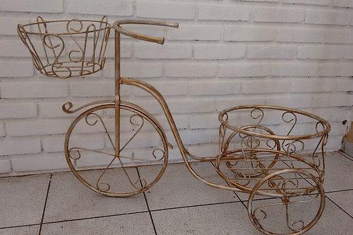 Triciclo Decorativo com Cesto Redondo