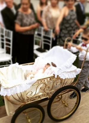 C-11 Carrinho de Bebê Cerimonia-Pajen-Daminha